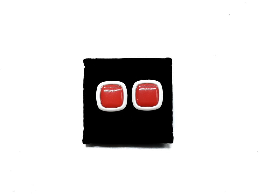 orecchini a bottone vintage melavintage accessori milano